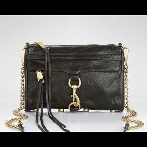 Rebecca Minkoff Black Mini MAC.